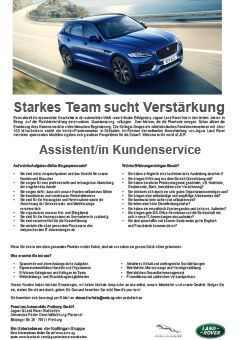 Jaguar / Land Rover Assistenz Service
